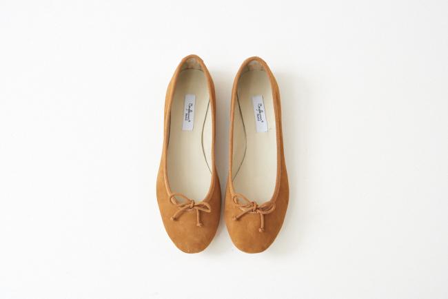 麂皮圓頭芭蕾舞鞋 撒哈拉沙漠