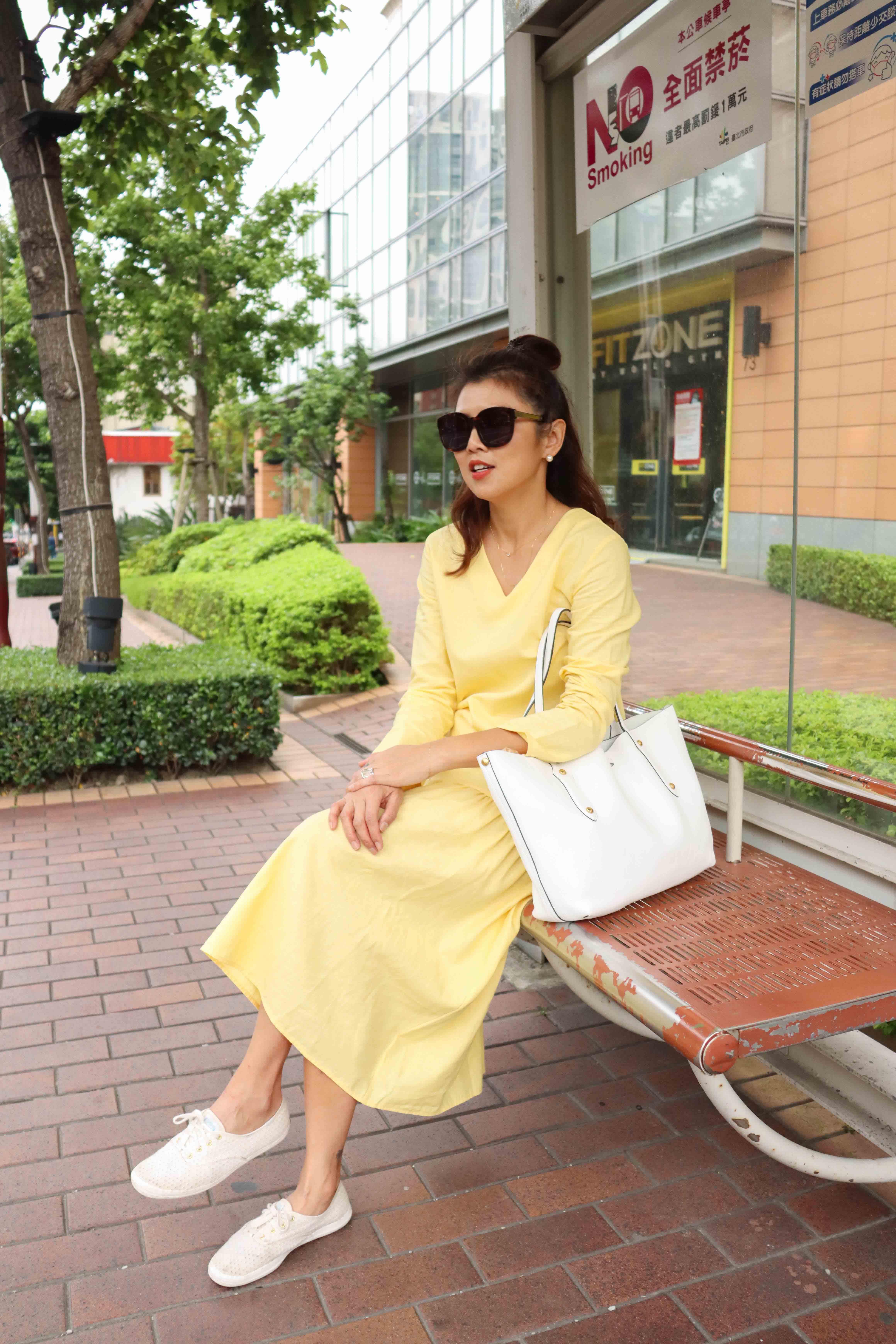 仲夏節亞麻洋裝