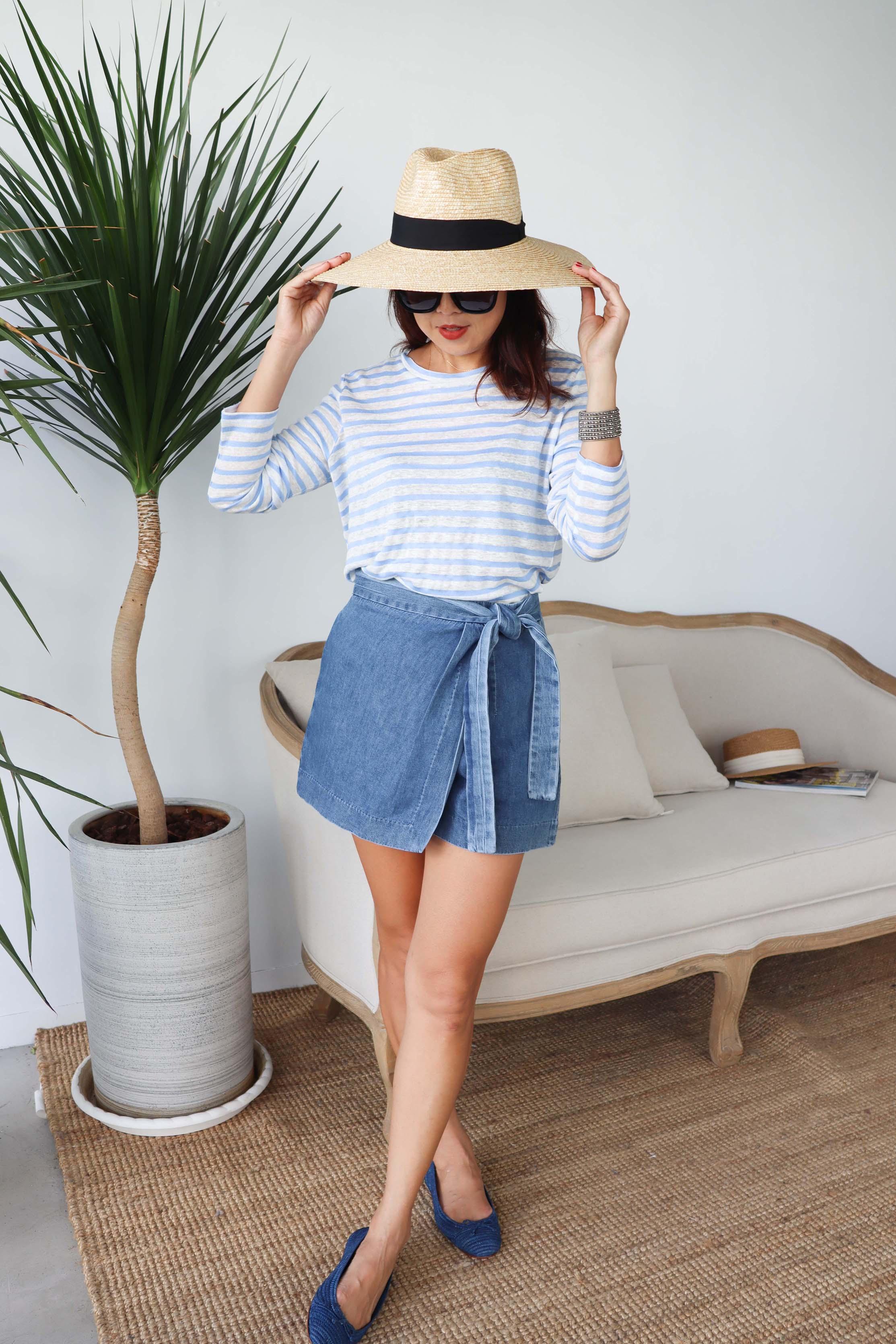純棉綁帶短褲裙,,,02RE20STP0PS321,純棉綁帶短褲裙,