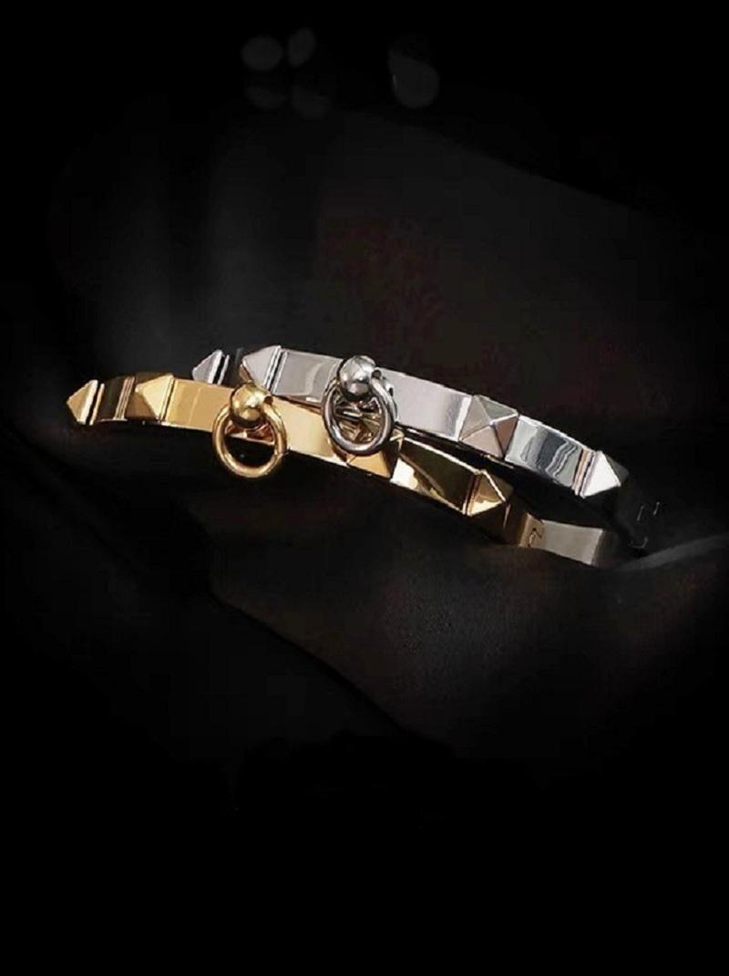 個性立體卯釘造型手環