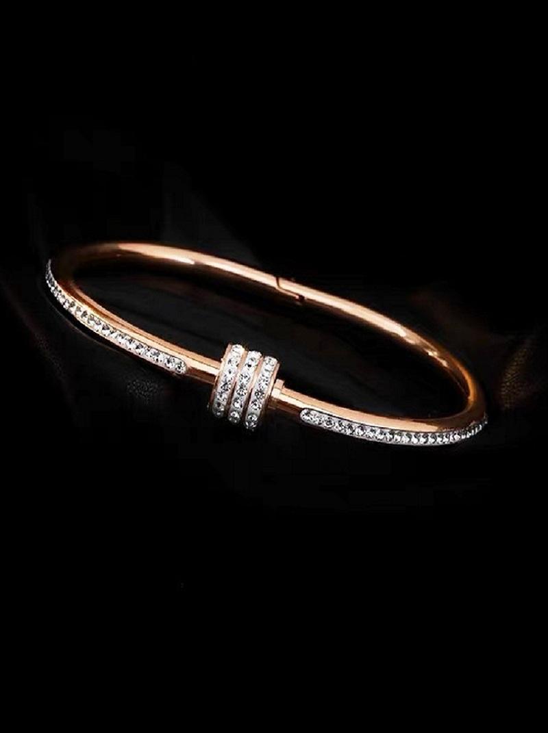 高貴排鑽手環