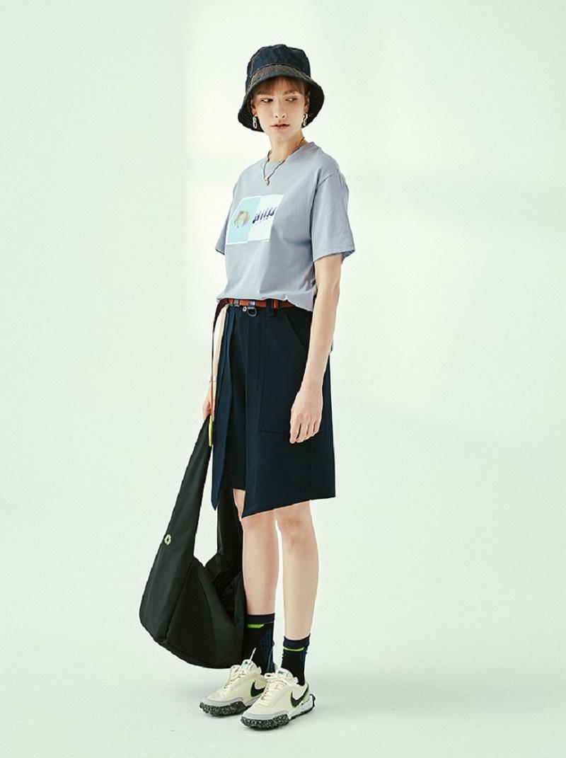 特色造型時髦五分褲