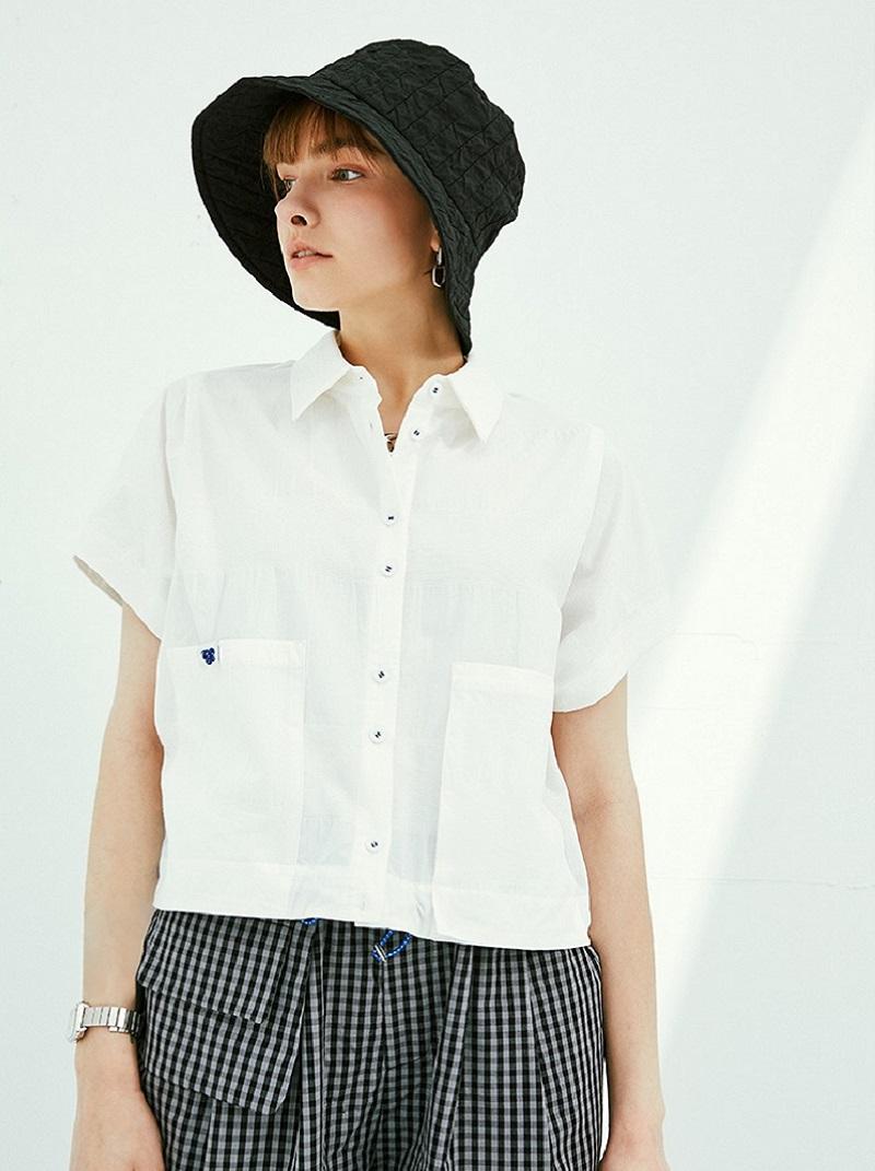 短款休閒純棉襯衫