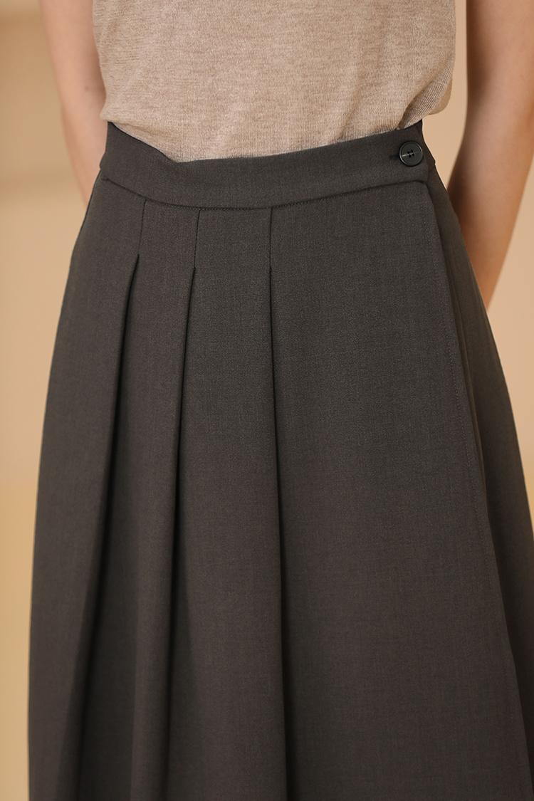 氣質款一片式褶裙