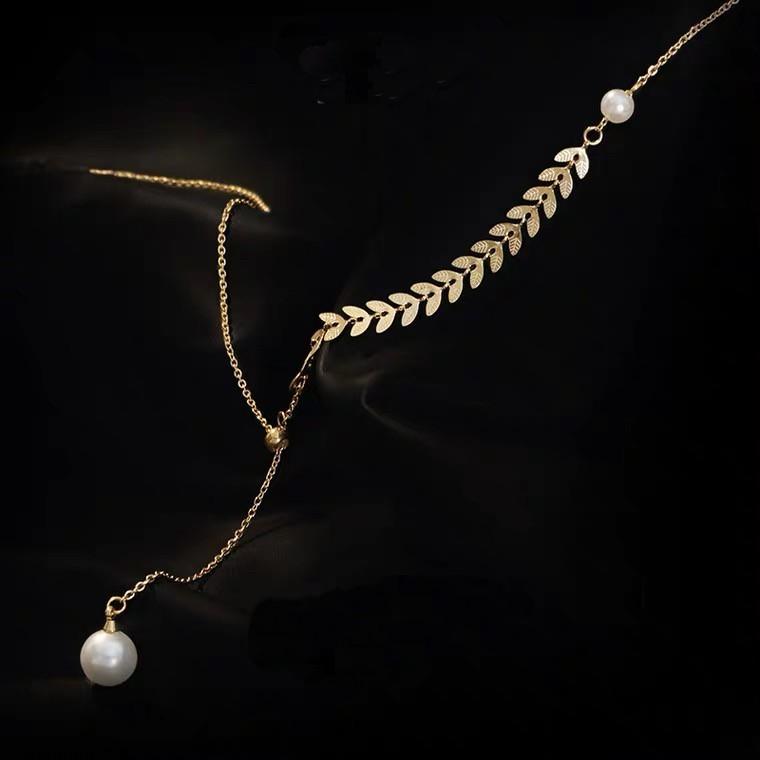 珍珠墜飾項鍊