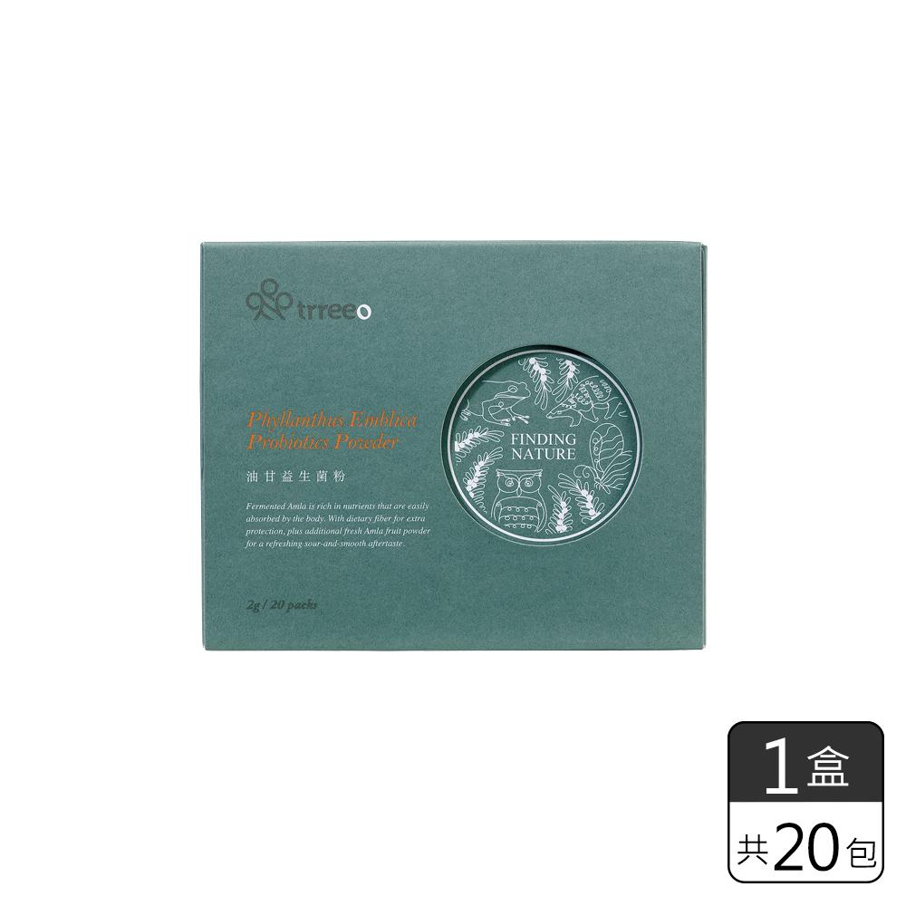 《樹重奏》油甘益生菌粉 (2g*20包)