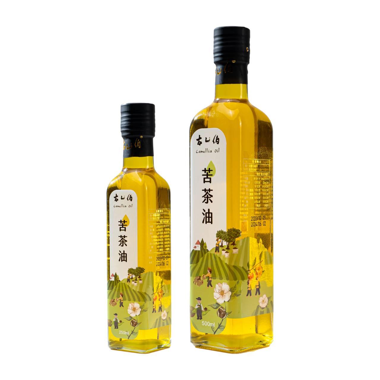 《古乙伯》苦茶油 (500ml /1瓶、250ml /1瓶)