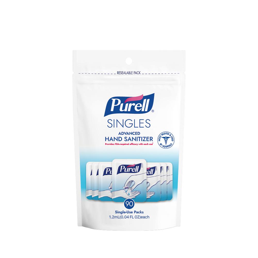 《Purell普瑞來》乾洗手凝露隨身包 (1.2ml/包,90包入)