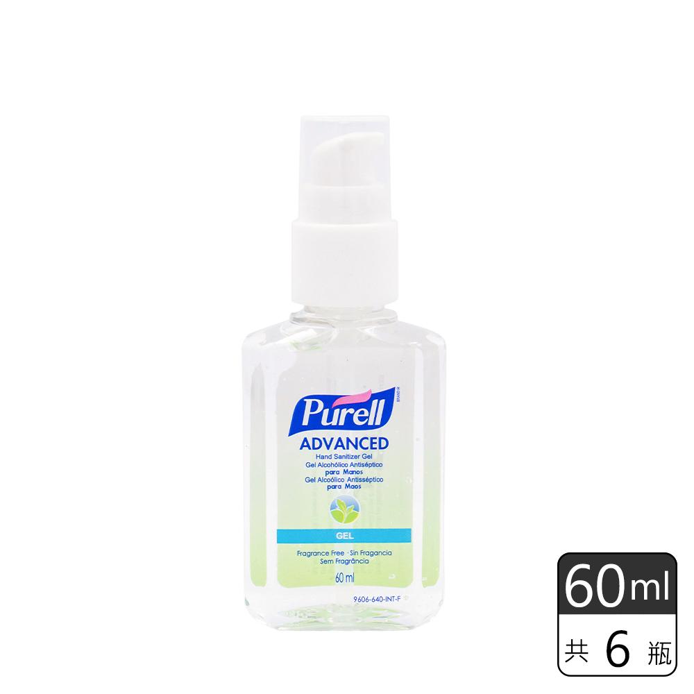 《Purell普瑞來》乾洗手凝露 (60ml*6瓶)