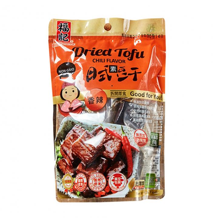 《福記》辣味日式素豆干 (190g/包)