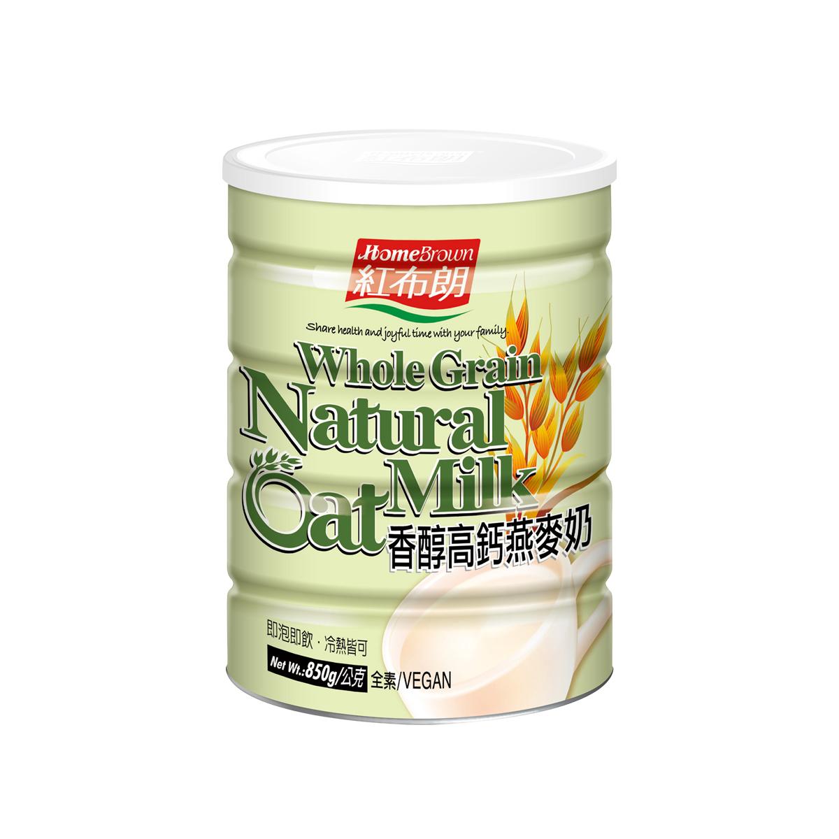 《紅布朗》香醇高鈣燕麥奶 (850g)