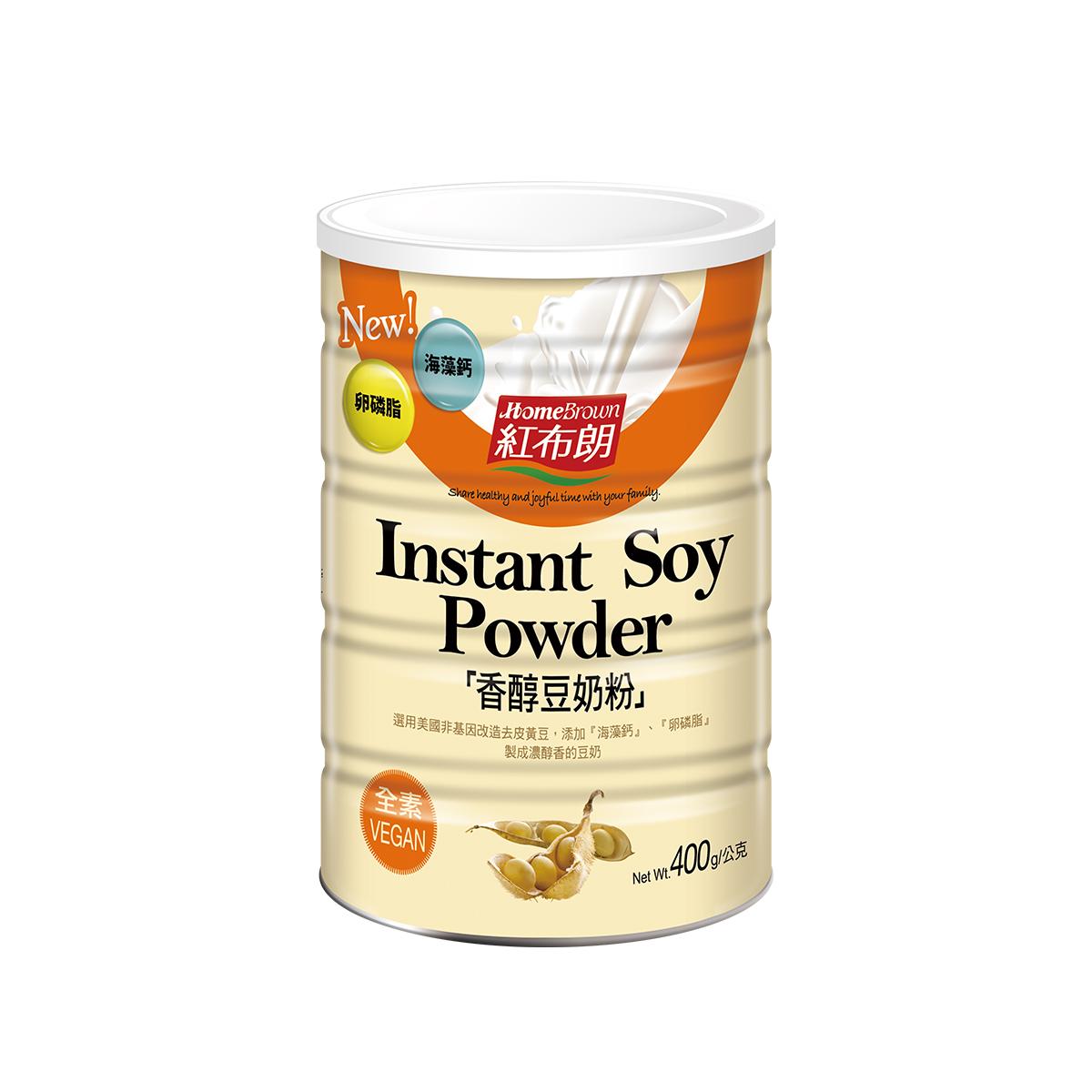 《紅布朗》香醇豆奶粉 (400g)