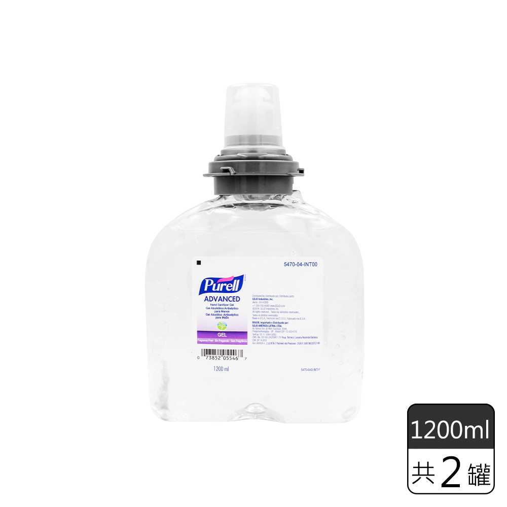 《Purell普瑞來》乾洗手凝露補充罐TFX™ (1200mL*2罐)