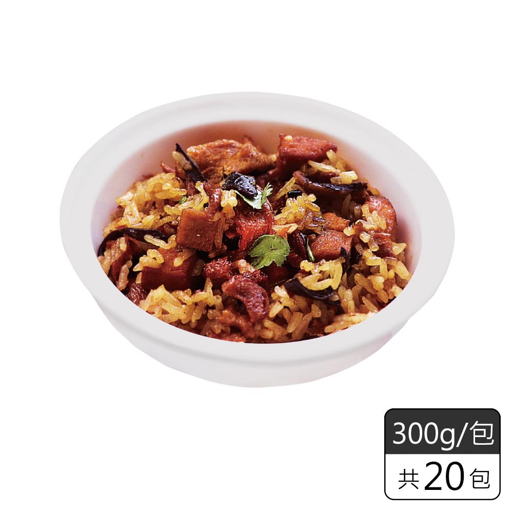 《素日子》古早味香菇油飯(20包)