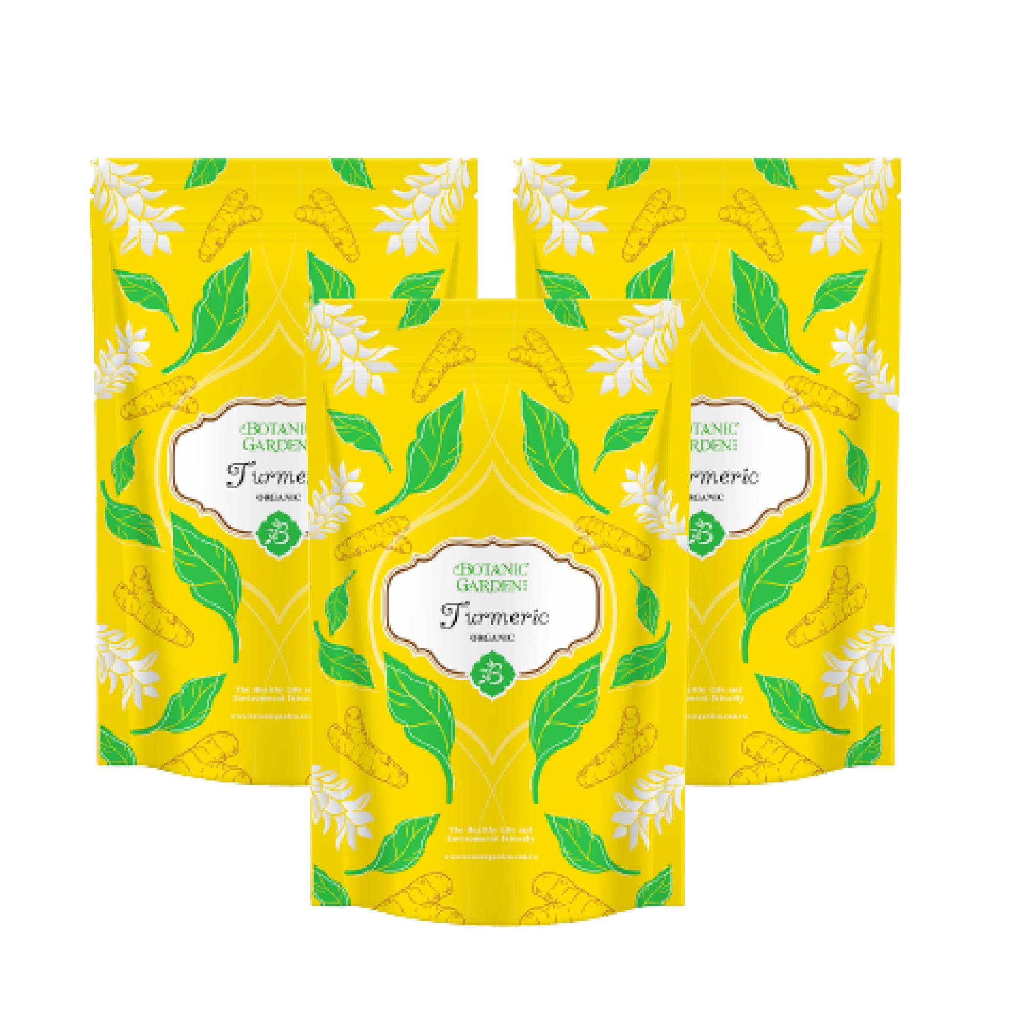 《寶草園》印度薑黃粉100g (三入組)