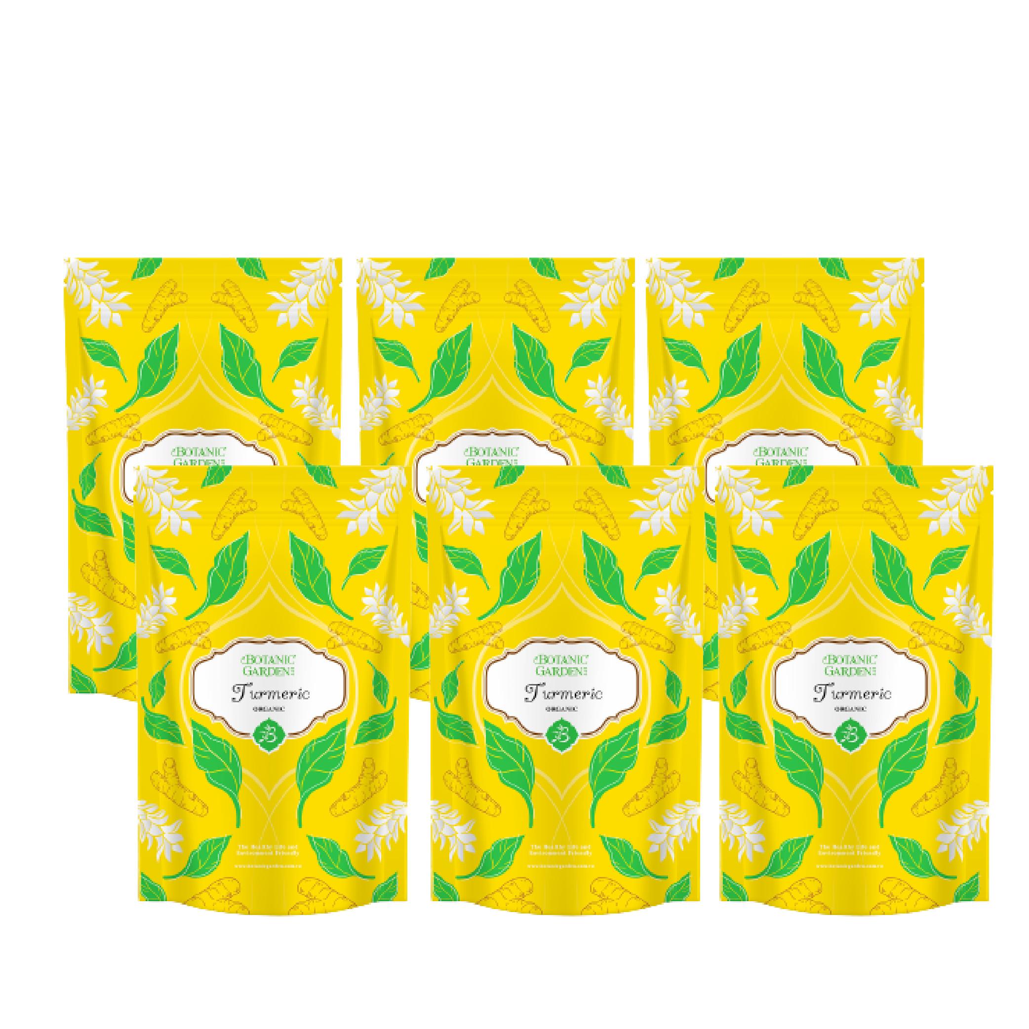 《寶草園》印度薑黃粉100g (六入組)