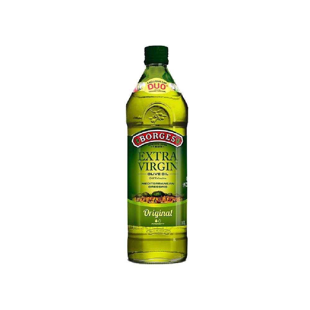 《西班牙BORGES百格仕》原味橄欖油 (1公升/瓶)