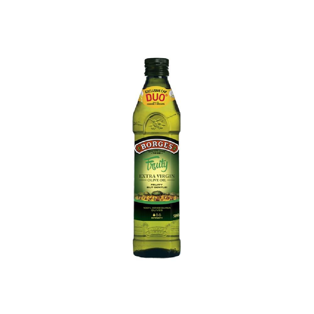 《西班牙BORGES百格仕》阿爾貝吉納橄欖油 (500ml/瓶)