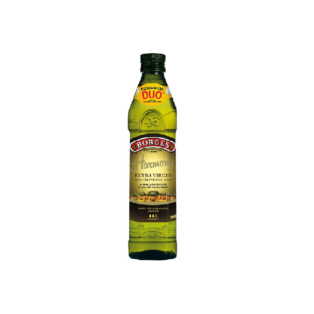 《西班牙BORGES百格仕》霍希布蘭卡橄欖油 (500ml/瓶)