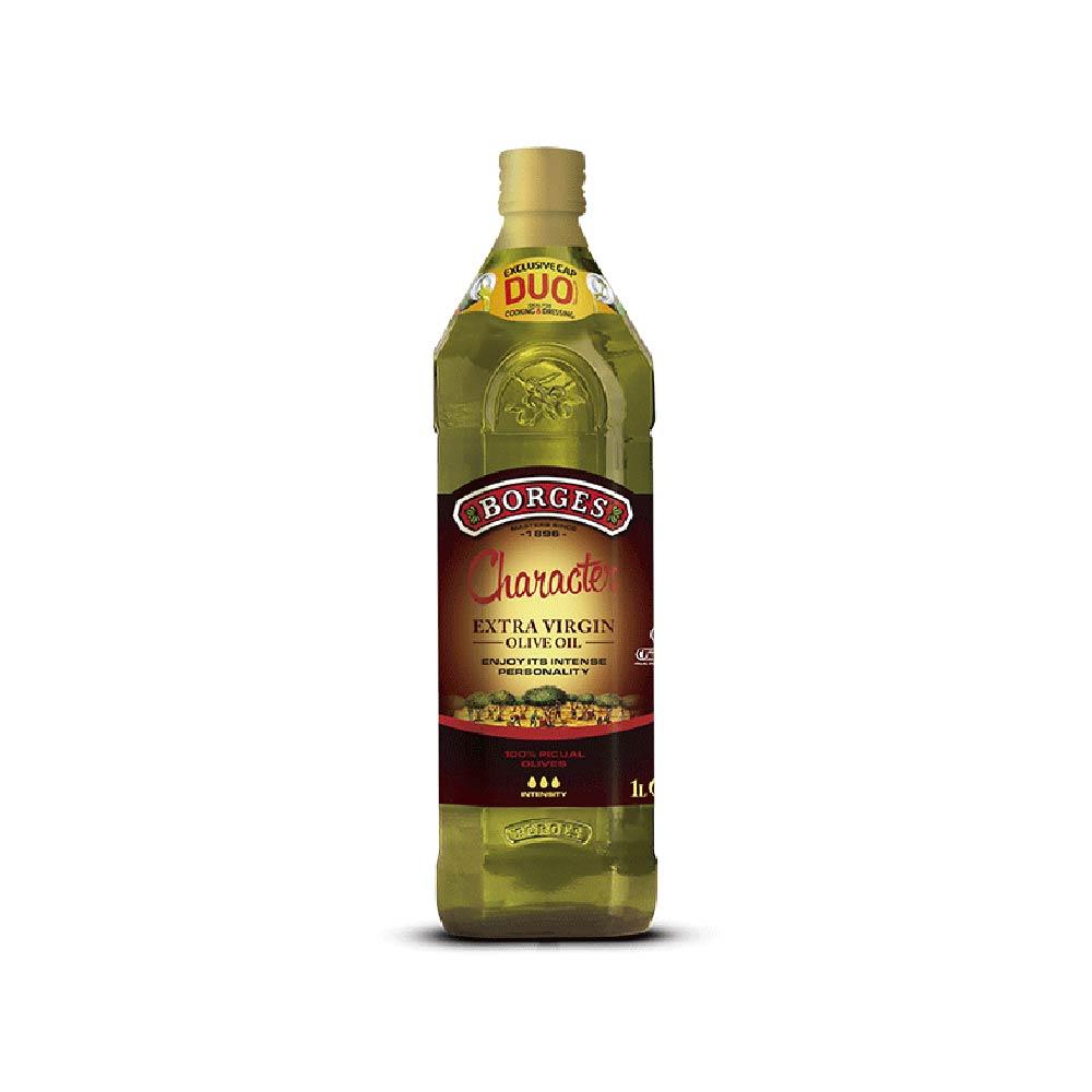 《西班牙BORGES百格仕》畢夸爾橄欖油 (1公升/瓶)