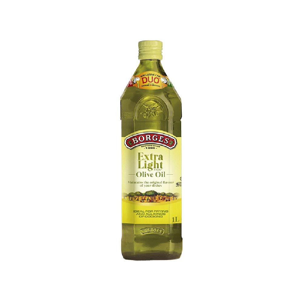 《西班牙BORGES百格仕》淡味橄欖油 (1公升/瓶)