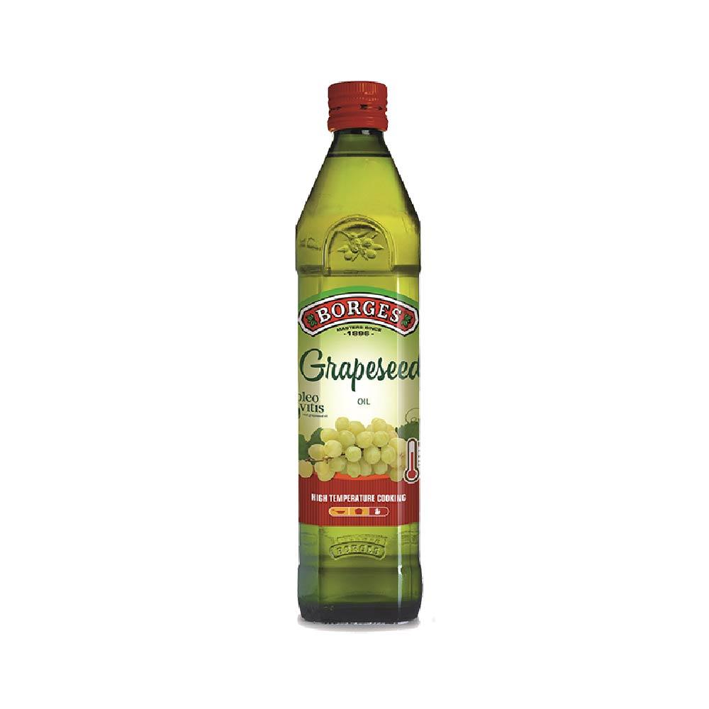 《西班牙BORGES百格仕》葡萄籽油 (500ml/瓶)