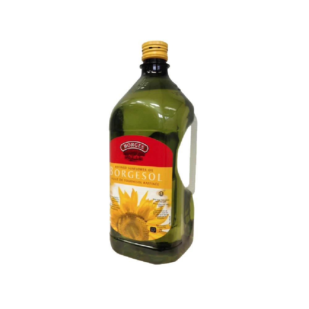 《西班牙BORGES百格仕》葵花油 (2公升/瓶)