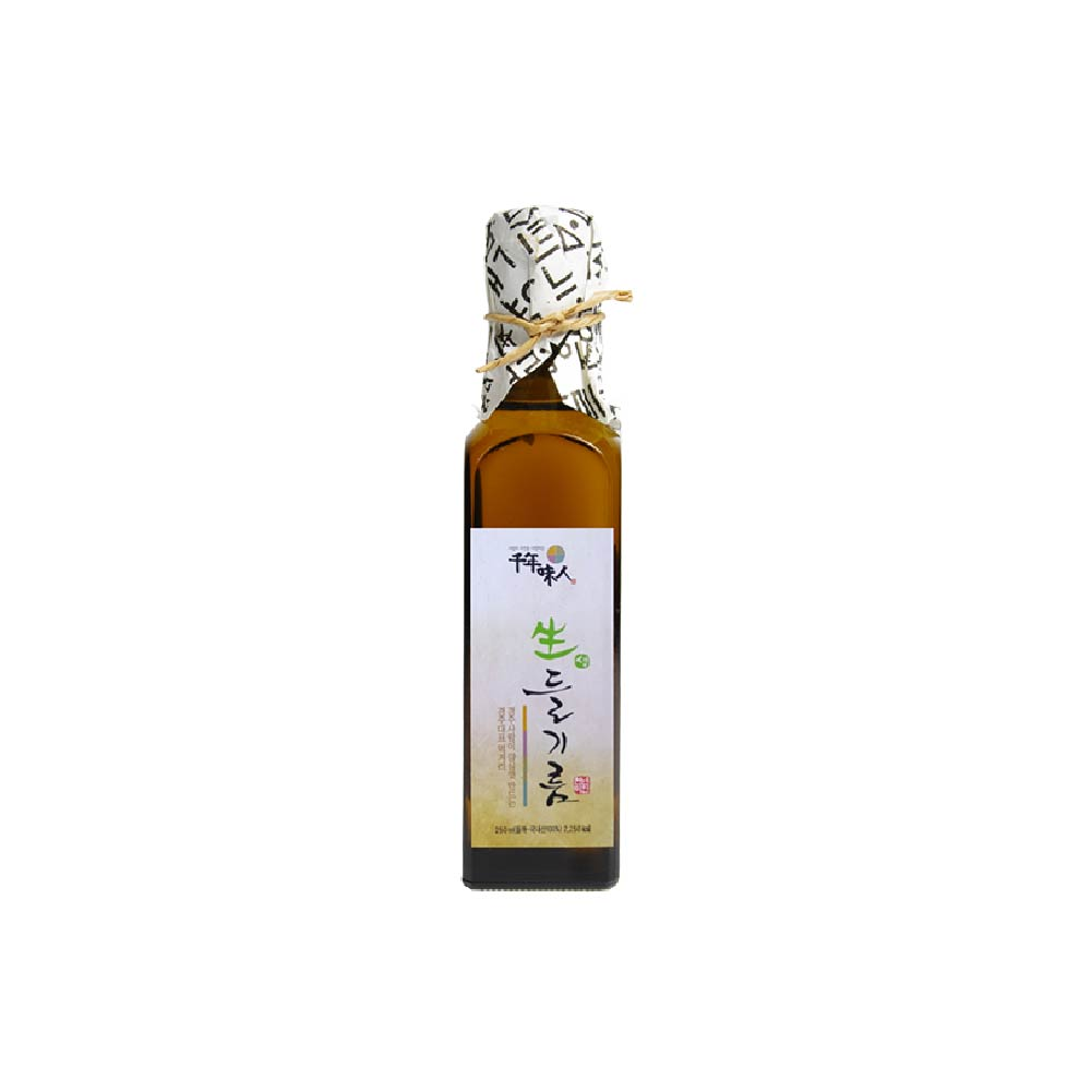《韓國千年味人》初榨冷壓紫蘇油 (250ml/瓶)