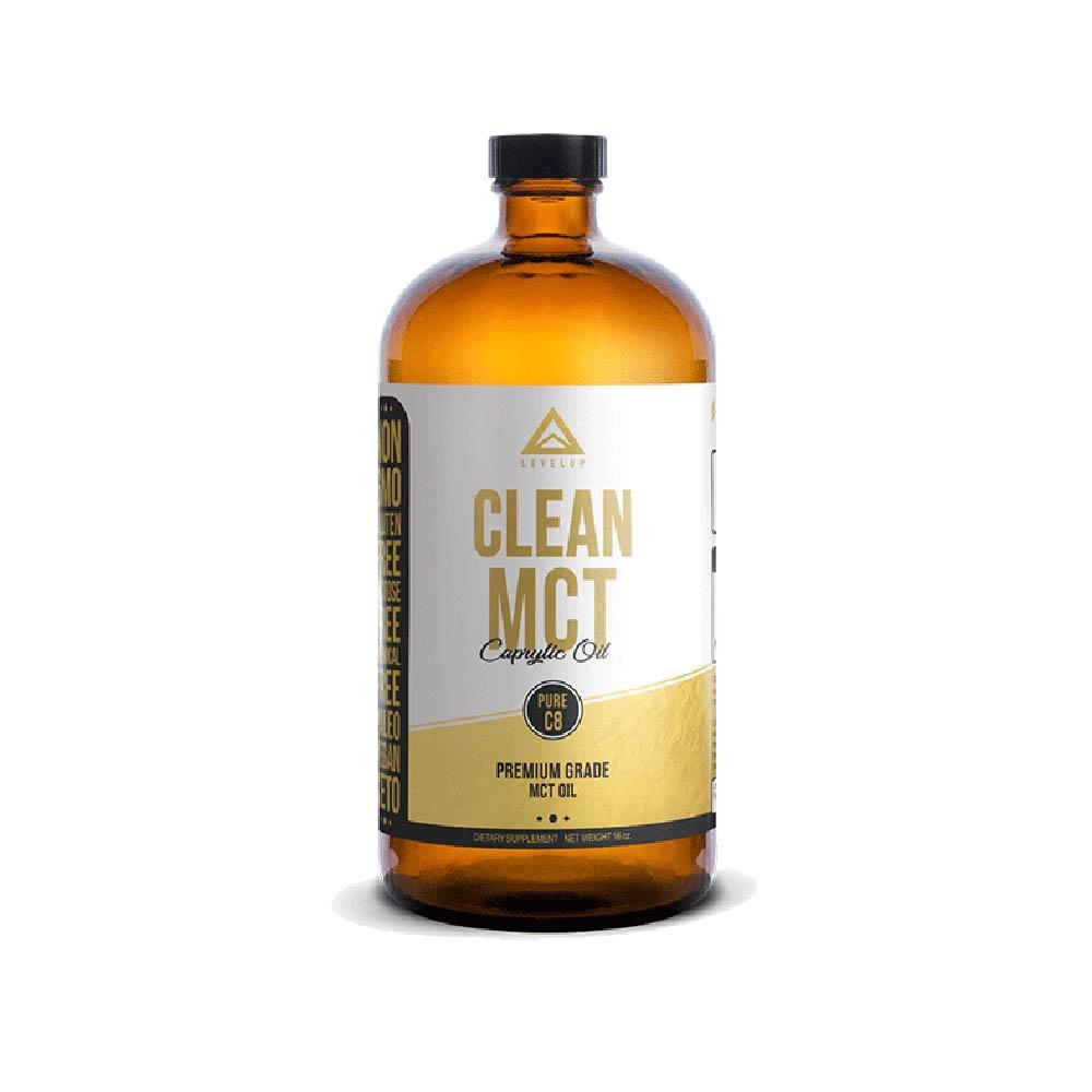 《美國LEVELUP》純淨C8中鏈油 (473ml/瓶)