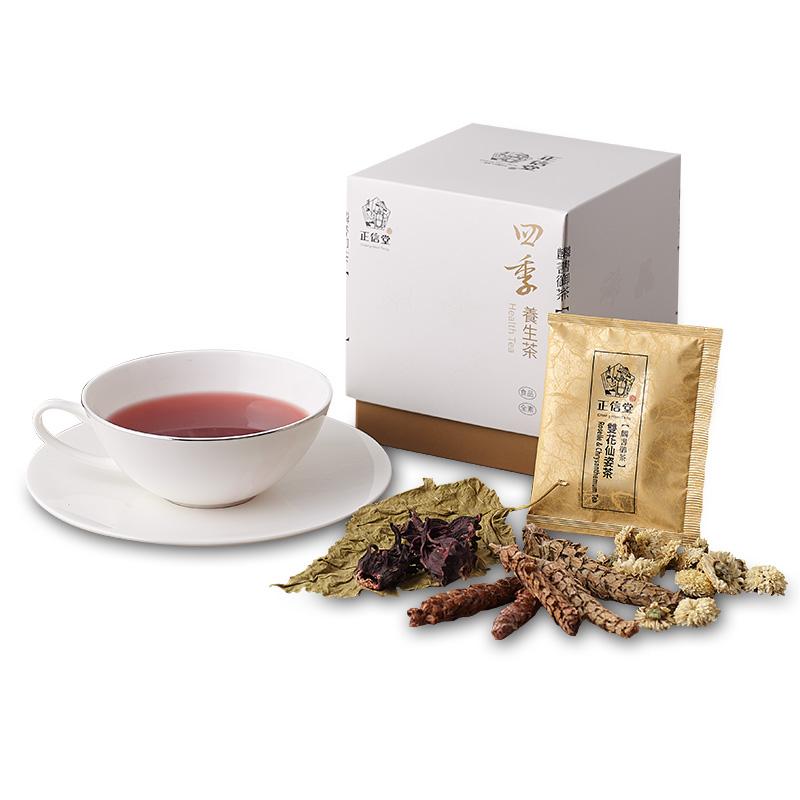 《正信堂》麟書御茶-四季養生茶-雙花仙姿茶 (10包/盒)
