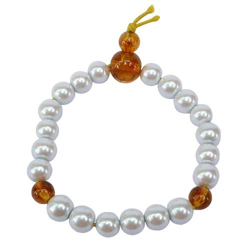 《聖宏》珍珠磁力念珠手串