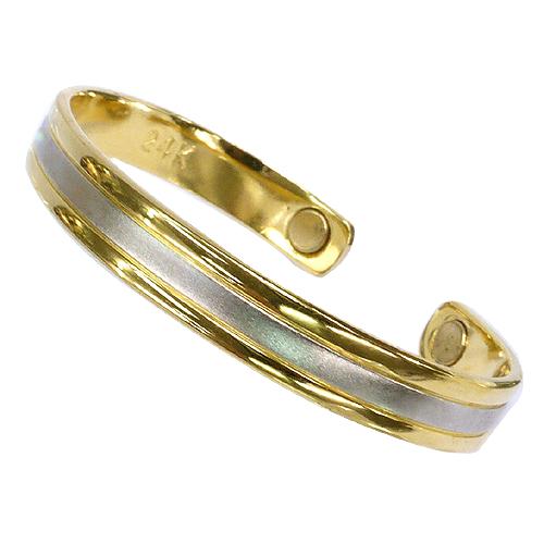 《聖宏》Aria 健康手環-雙色霧面磁性手鐲