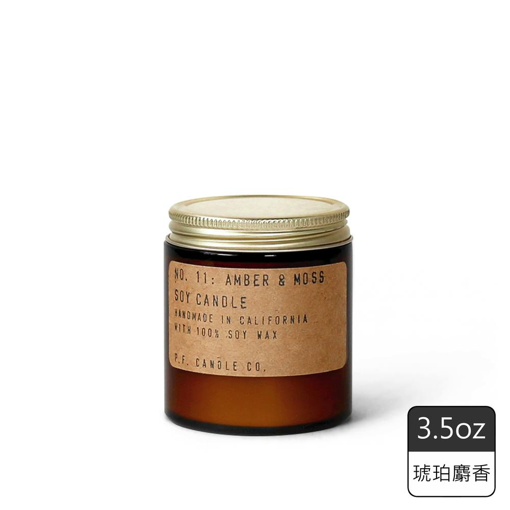 《P.F. Candles CO.》手工香氛蠟燭3.5oz琥珀麝香(2入)