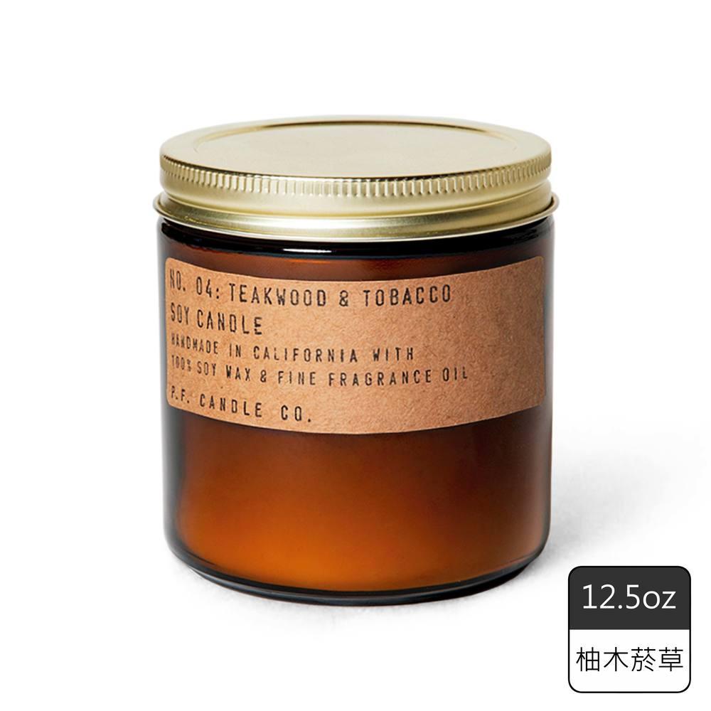 《P.F. Candles CO.》手工香氛蠟燭12.5oz柚木菸草(2入)