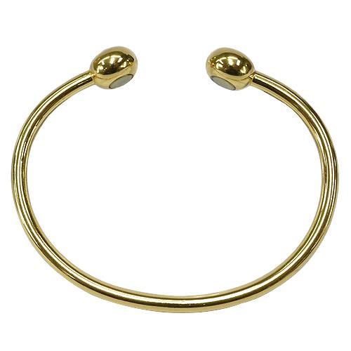 《聖宏》Aria 健康手環-鑽石磁力金色手鐲
