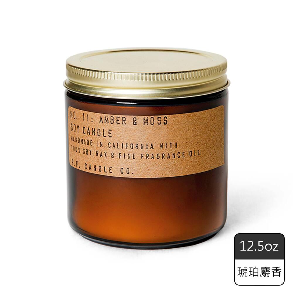 《P.F. Candles CO.》手工香氛蠟燭12.5oz琥珀麝香(2入)