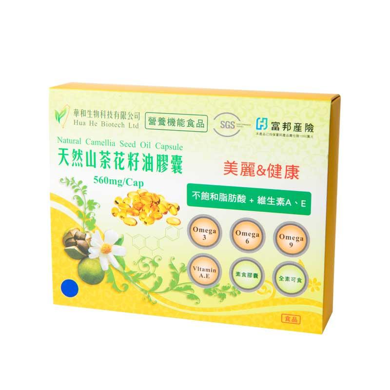 《華秝農場HualiFarm》山油花籽油膠囊(60粒入)