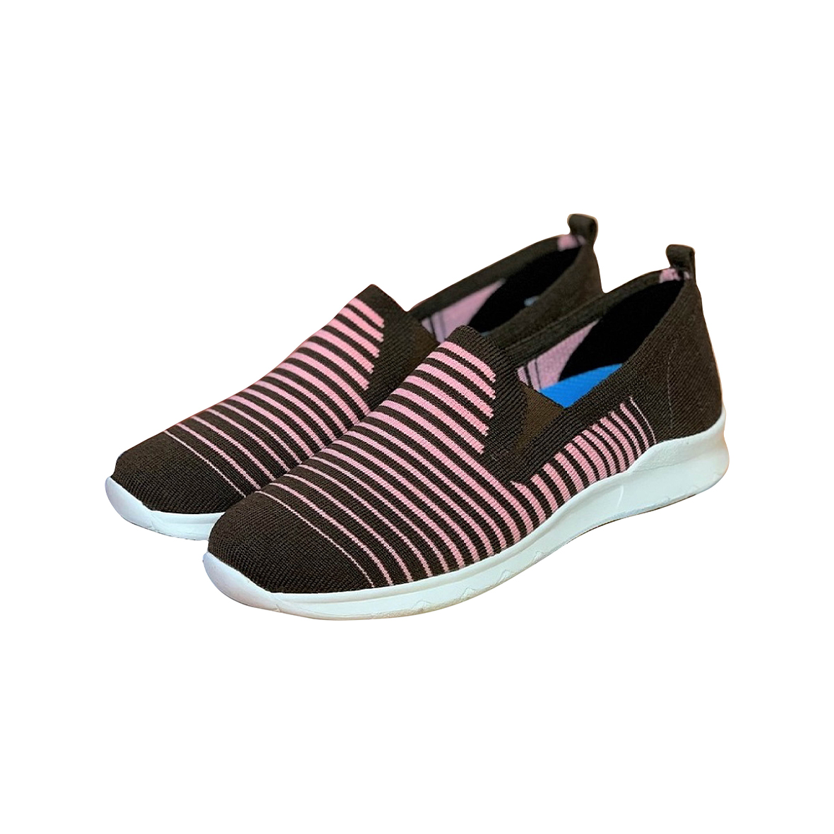 《WYPEX》清新條紋懶人鞋 (共4色)