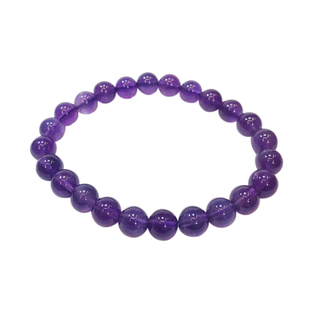《美優農水晶手鍊》智慧紫水晶手鍊