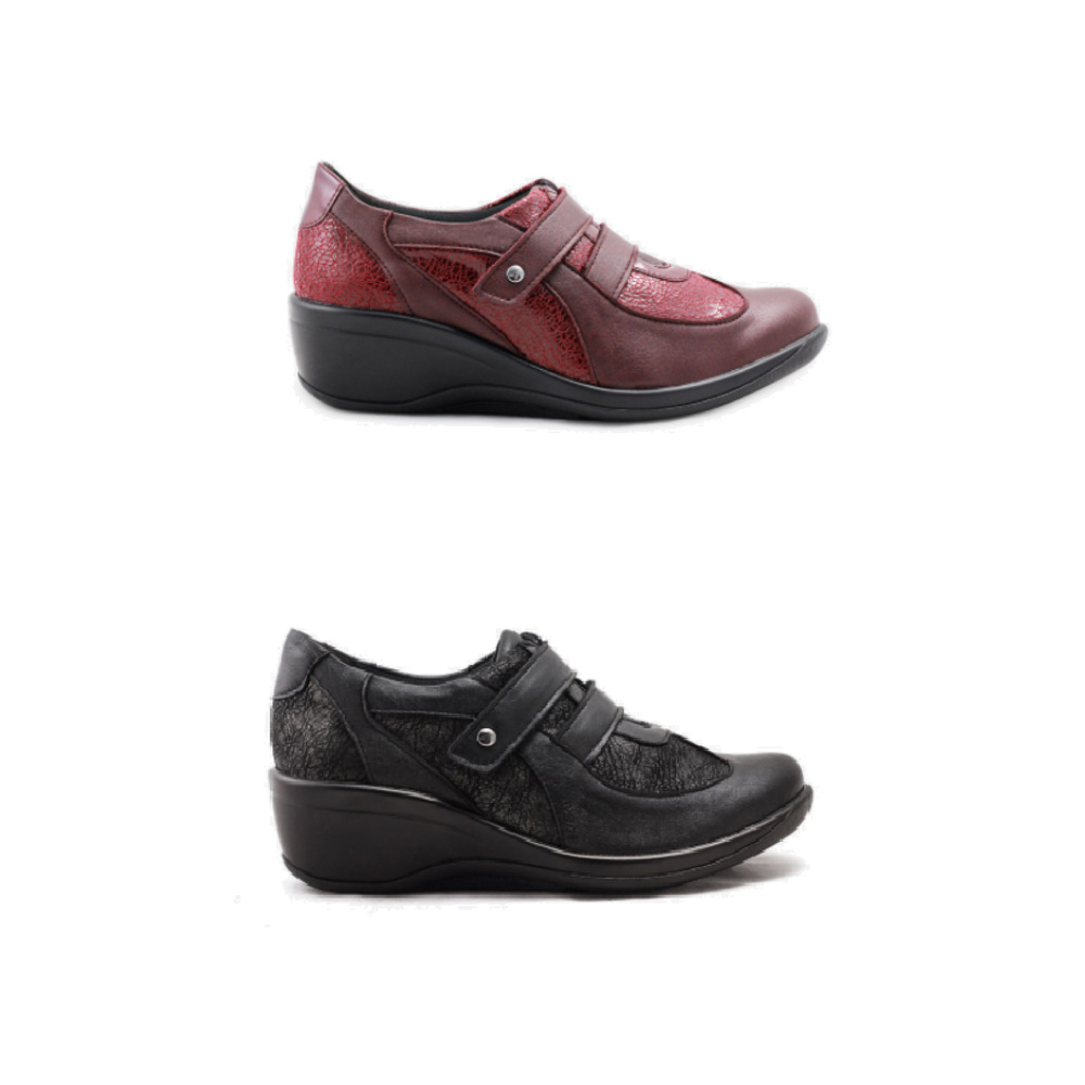 《雅客》雙向設計帶微跟淑女鞋(兩色可選)