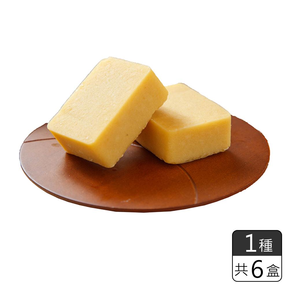 《和生御品》原味金磚綠豆黃 (6盒)