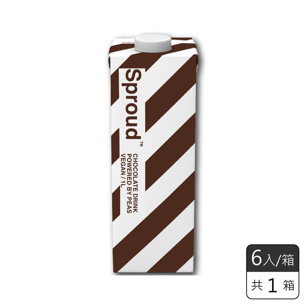 《瑞典Sproud 超驕傲未來植物艿》 巧克力(6入/箱)