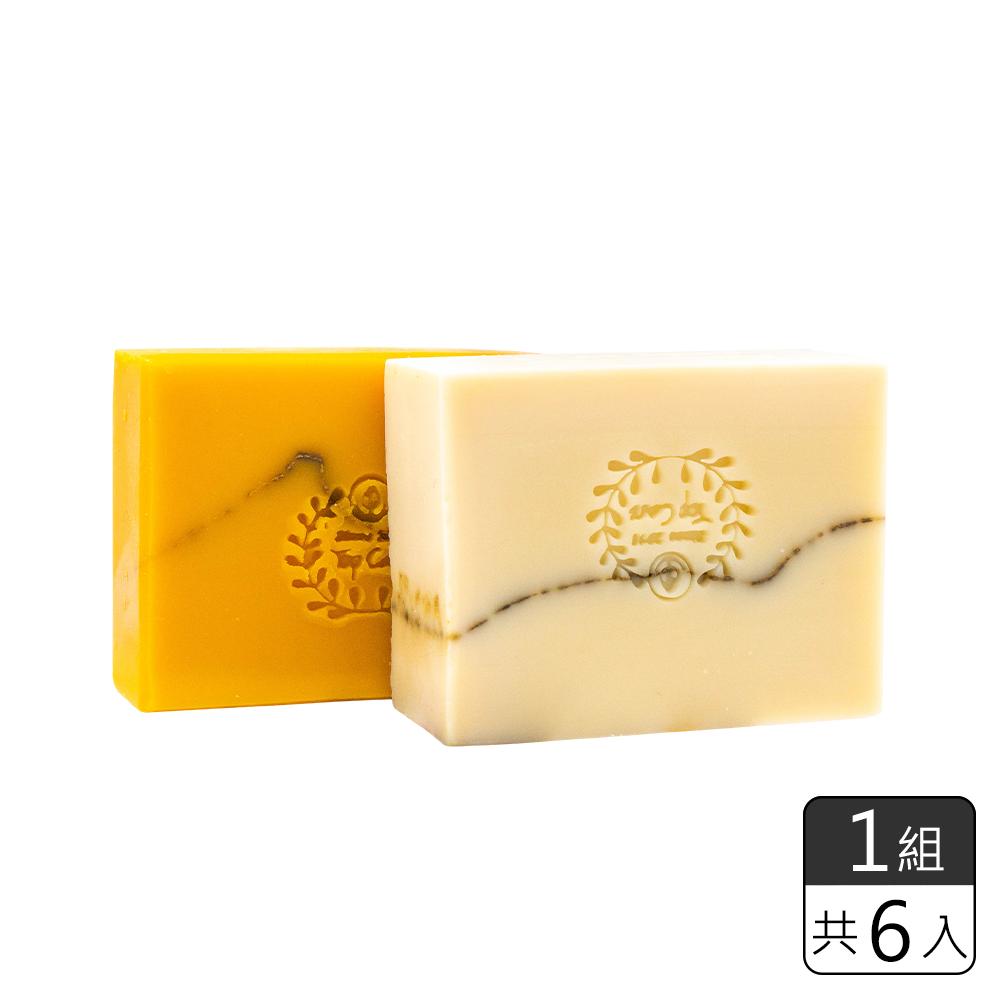 《光森生醫》黃金蜂膠檜木皂&白金酵素苦橙皂*6 (一組)