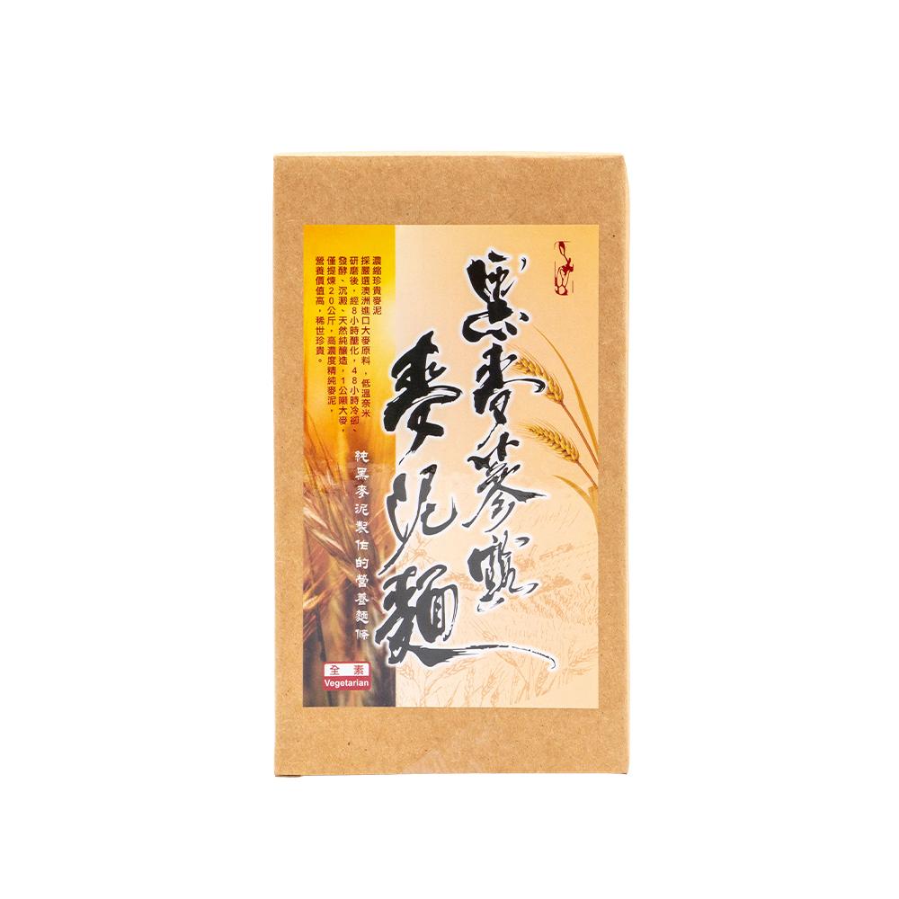 《台灣柔冠》黑麥蔘露麥泥麵 (300g*2/盒)