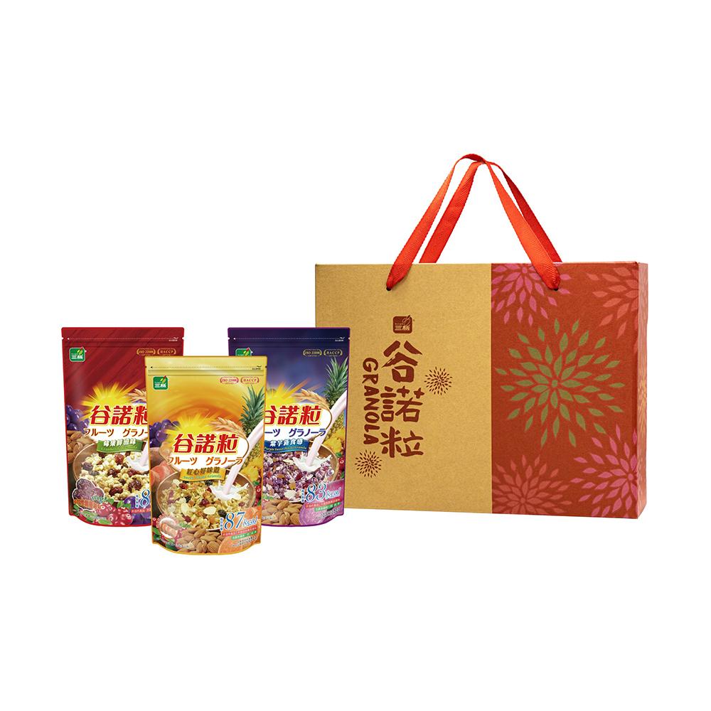 《鈺統》三機谷諾粒禮盒2入組(莓果、紅甘藷、紫甘藷) 限時優惠