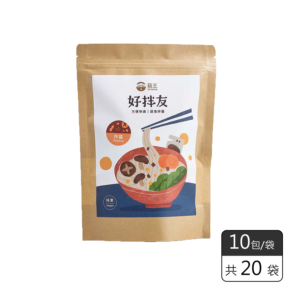 《菇王食品》好拌友素炸醬方便包(28g/10包入)