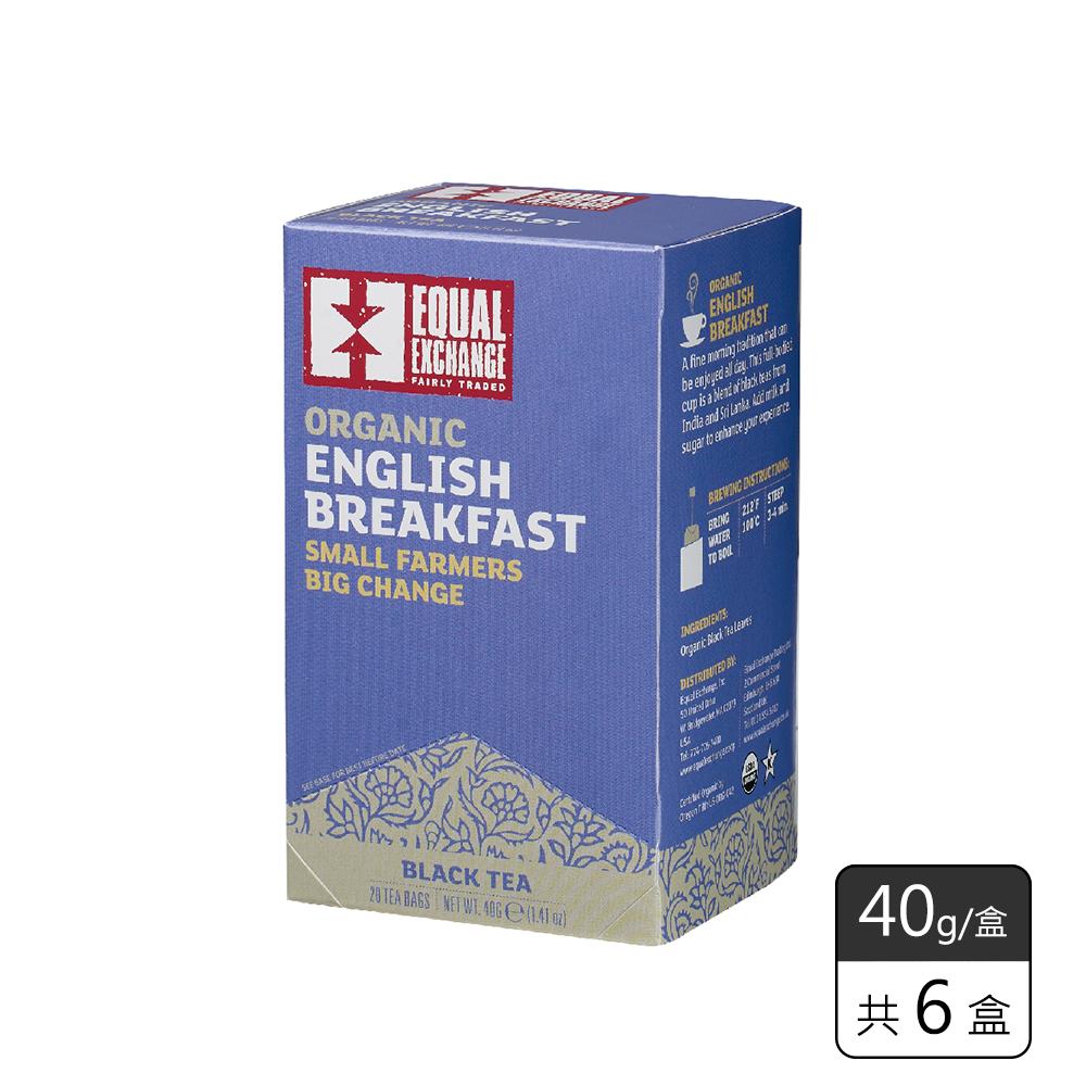 《馥聚 Foody》Equal Exchange有機英格蘭早餐茶(40g/6盒)