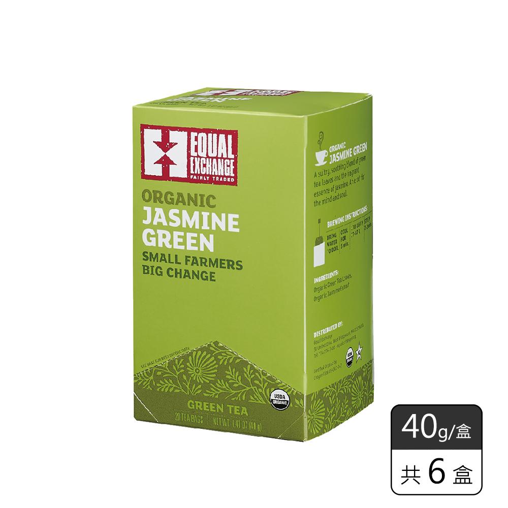《馥聚 Foody》Equal Exchange有機茉莉綠茶(40g/6盒)