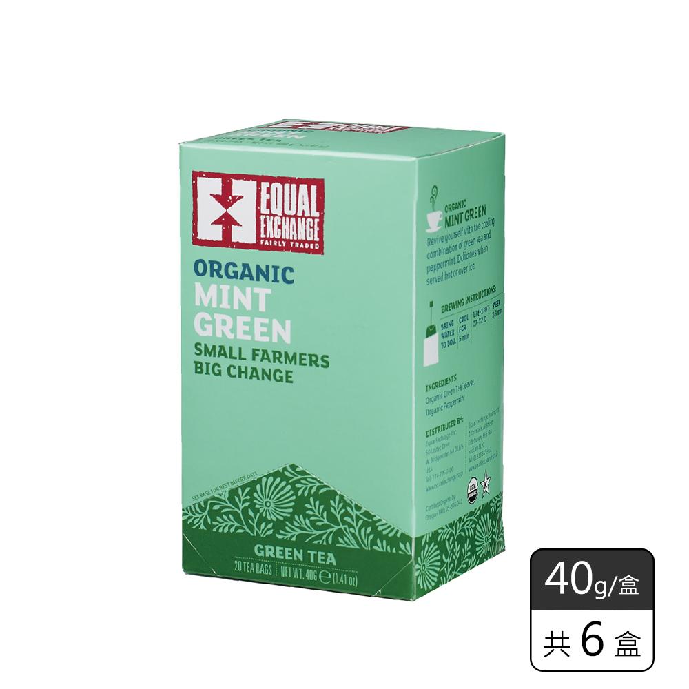 《馥聚 Foody》Equal Exchange有機薄荷綠茶(40g/6盒)