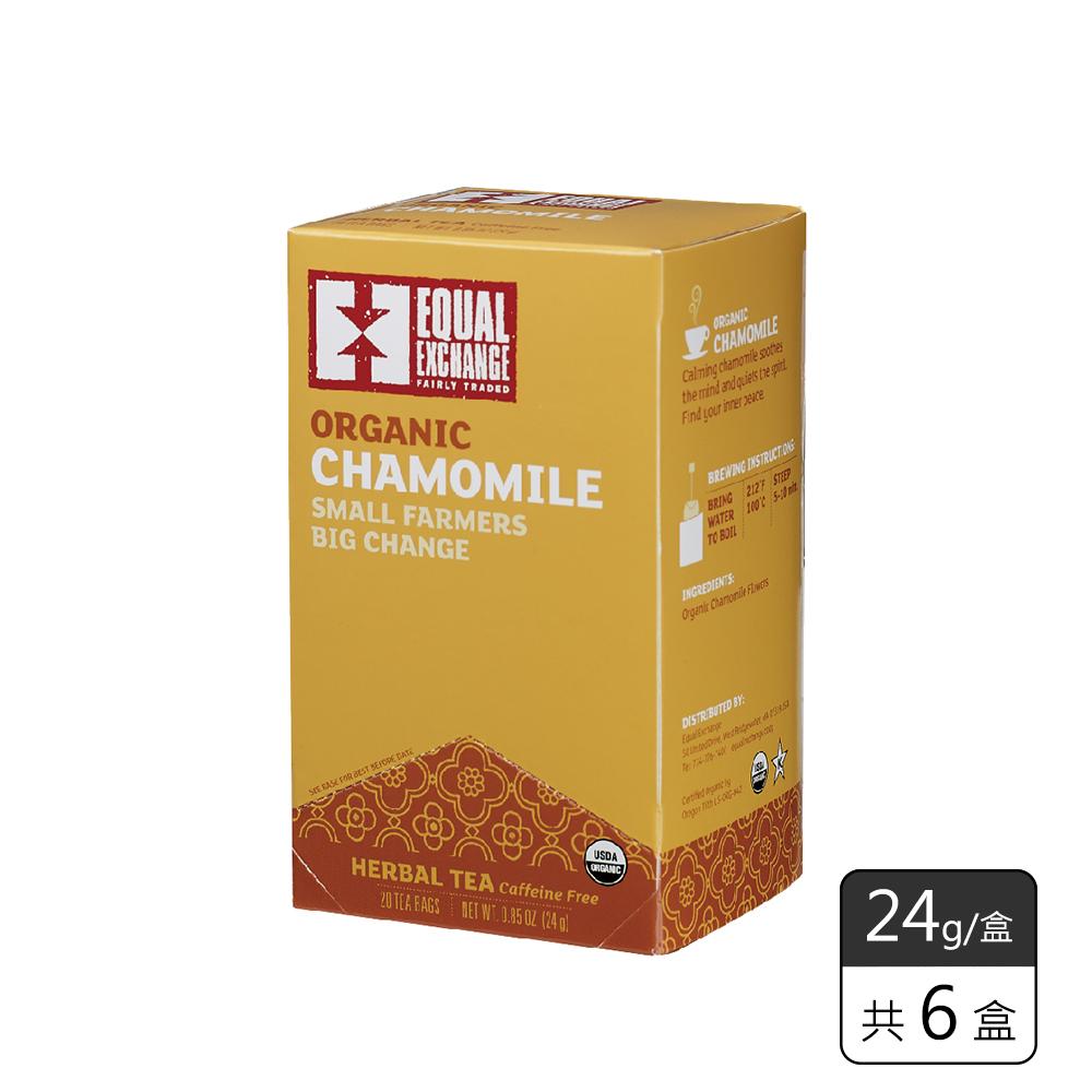 《馥聚 Foody》Equal Exchange有機甘菊茶(24g/6盒)